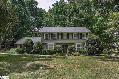 Greenville SC Single Family Home For Sale: $345,000