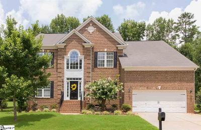 Travelers Rest Single Family Home For Sale: 208 Woodland Creek