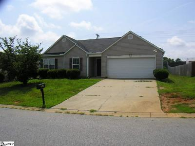 Fountain Inn Single Family Home Contingency Contract: 110 Barred Owl