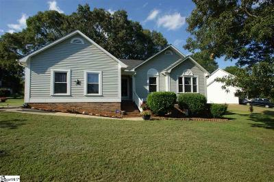 Mauldin Single Family Home Contingency Contract: 400 Keenan Orchard