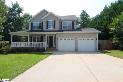 Greer Single Family Home For Sale: 1 Hartman