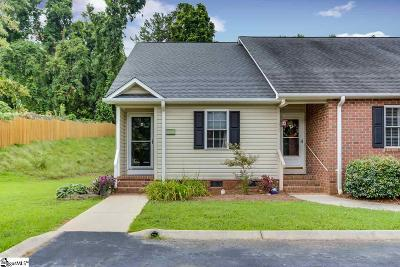 Easley Condo/Townhouse For Sale: 100 A Park Crossing