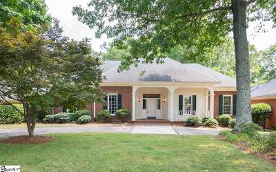 Greenville Single Family Home For Sale: 207 Hidden Hills