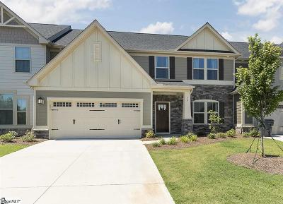 Simpsonville Condo/Townhouse For Sale: 48 Hemingway
