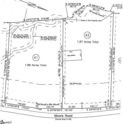 Greenville Residential Lots & Land For Sale: 1118 Moore