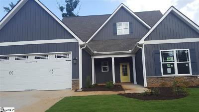 Simpsonville Single Family Home For Sale: 324 Brenleigh