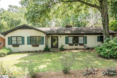 Augusta Road Single Family Home For Sale: 210 Cureton