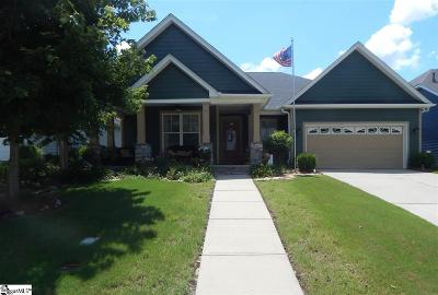 Simpsonville Single Family Home For Sale: 105 Martele