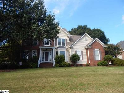 Simpsonville Single Family Home For Sale: 311 Parkside