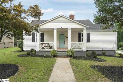 Greenville Single Family Home For Sale: 2 High Hill