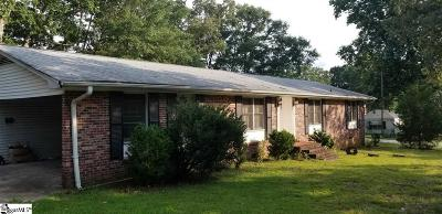 Greenville Single Family Home For Sale: 105 Forest