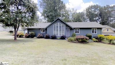 Inman Single Family Home For Sale: 109 Clark Hill
