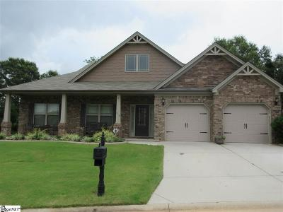 Simpsonville Single Family Home For Sale: 212 Dairwood