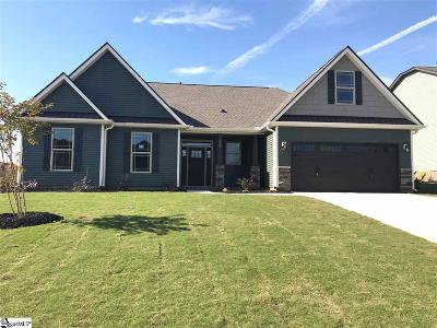 Greer Single Family Home For Sale: 524 Turning Leaf #Lot 84