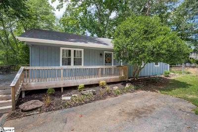 Greenville Single Family Home For Sale: 233 Mohawk