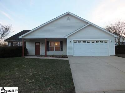 Inman Single Family Home For Sale: 715 Evelyn Mae