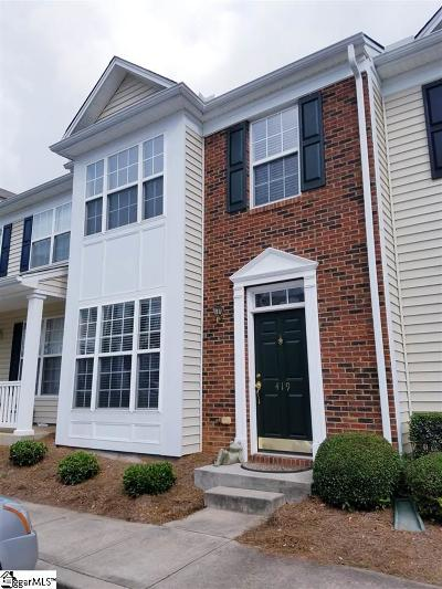 Mauldin Condo/Townhouse Contingency Contract: 419 Twist