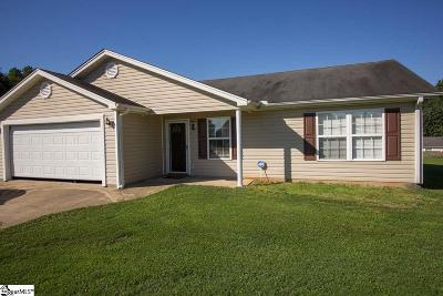 Greenville Single Family Home For Sale: 3 Novatak