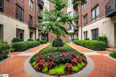 Greenville Condo/Townhouse For Sale: 224 South Laurens #Unit 309