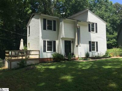 Greenville County Single Family Home For Sale: 1518 E Yellow Wood