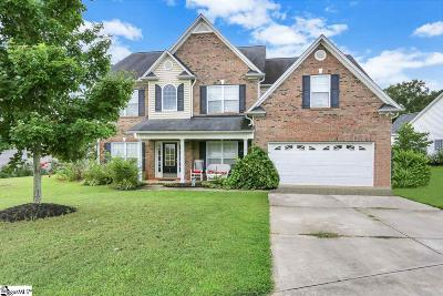 Simpsonville Single Family Home For Sale: 1 Chattahoochee