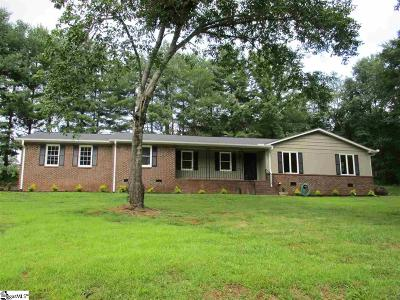 Easley Single Family Home For Sale: 306 Stone Hedge