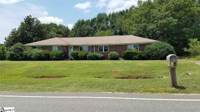 Greenville County Single Family Home For Sale: 3991 N Hwy 101