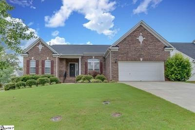Simpsonville Single Family Home For Sale: 204 Wynterhall