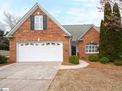 Greenville Condo/Townhouse For Sale: 801 Woodsford
