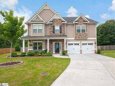 Simpsonville Single Family Home For Sale: 412 Sabin