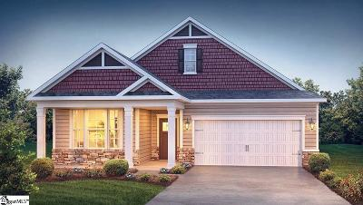 Inman Single Family Home For Sale: 695 Ridgeville Crossing #Lot 171