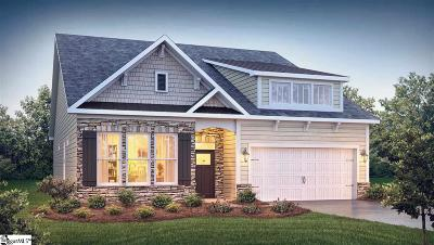 Inman Single Family Home For Sale: 663 Ridgeville Crossing #Lot 164