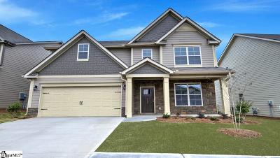 Simpsonville Single Family Home For Sale: 702 Troutdale