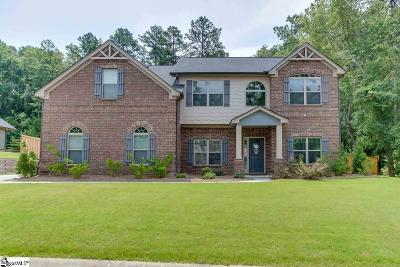 Simpsonville Single Family Home For Sale: 213 Montalcino