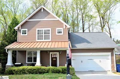 Greenville Single Family Home For Sale: 5 Alex