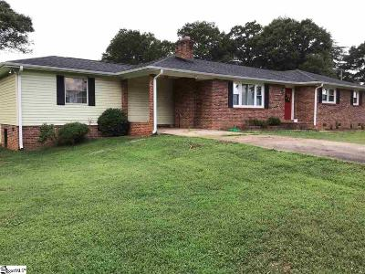 Greenville SC Single Family Home For Sale: $153,000