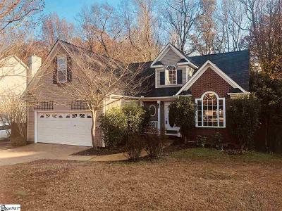 Simpsonville Single Family Home For Sale: 210 Trotters Ridge