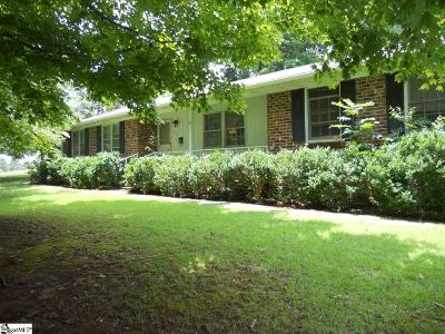 Greer Single Family Home For Sale: 207 Lakewood