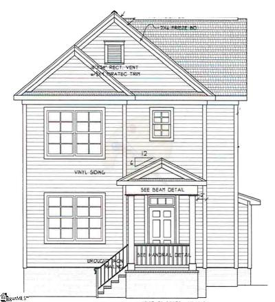 Greenville SC Single Family Home Contingency Contract: $322,305
