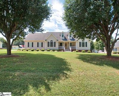 Inman Single Family Home For Sale: 340 Spring Valley