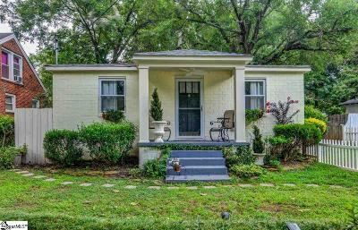 Greenville SC Single Family Home For Sale: $175,900