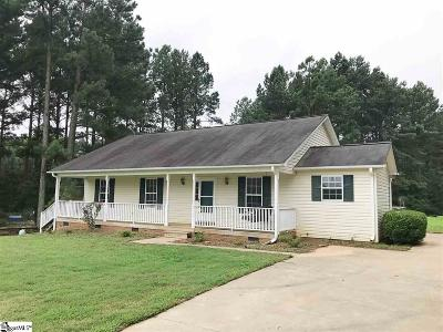 Easley Single Family Home For Sale: 1562 Cedar Rock Church