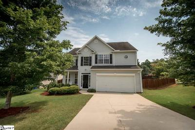 Mauldin Single Family Home Contingency Contract: 100 Merlot