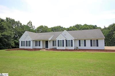 Belton Single Family Home Contingency Contract: 4524 Old Williamston
