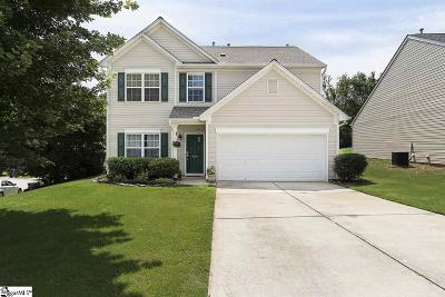 Greer Single Family Home For Sale: 424 Chartwell