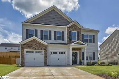 Simpsonville Single Family Home For Sale: 431 Jones Peak