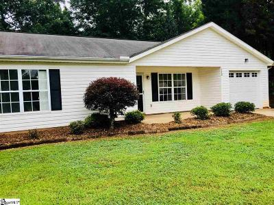 Liberty SC Single Family Home For Sale: $136,500