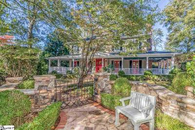 Greenville SC Single Family Home For Sale: $795,000