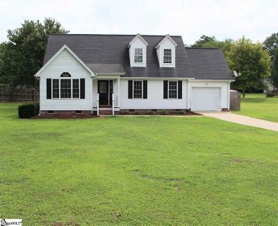 Piedmont SC Single Family Home For Sale: $184,900