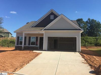 Duncan SC Single Family Home For Sale: $198,912